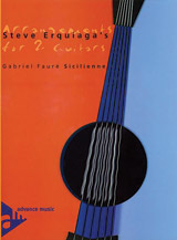 Steve Erquiaga's Arrangements for 2 Guitars: Sicilienne