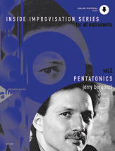 Inside Improvisation 2 Pentatonics Jerry Bergonzi All Instruments Book with