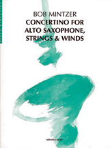 Concertino for Alto Saxophone, Strings & Winds