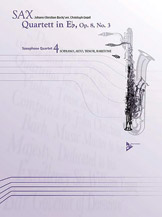 Quartett in E-flat Opus 8, No. 3