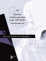 Concerto a 4 Violini senza Basso A-Dur TWV 40:204