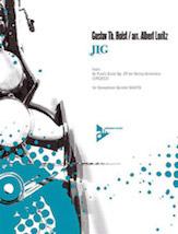 Jig; From St. Paul's Suite; Op. 29 (Conductor Score & Parts); 5 Saxophones SATBar (Saxophone); Masterwork Arrangement; #YL01-ADV7563 By Gustav Holst / arr. Albert Loritz
