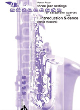 Three Jazz Settings: I. Introduction and Allegro
