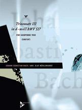 Triosonate III in D Moll BWV 527