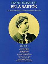Piano Music of Bela Bartok, Series 1