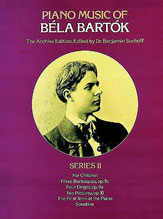Piano Music of Bela Bartok, Series 2