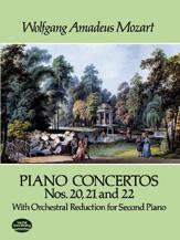 Piano Concertos Nos. 20, 21, and 22