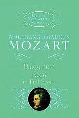 Wolfgang Amadeus Mozart : Requiem : SATB : 01 Songbook : 9780486401164 : 06-401162