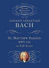 Bach Passion St Matthew