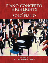Piano Concerto Highlights for Solo Piano