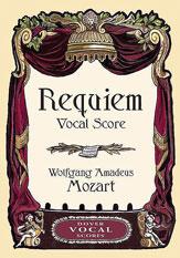 Wolfgang Amadeus Mozart : Requiem : SATB : 01 Songbook : 9780486450438 : 06-450430