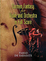 Carmen Fantasy for Violin and Orchestra