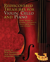 Rediscovered Treasures for Violin, Cello, and Piano