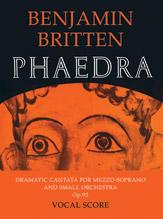 Benjamin Britten : Phaedra : 01 Songbook : 9780571505210 : 12-057150521X
