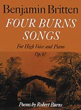 Four Burns Songs, Opus 92