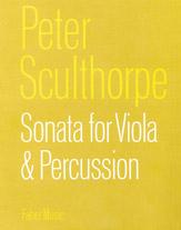 Sonata for Viola and Percussion
