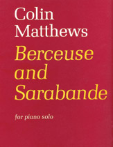 Berceuse and Sarabande