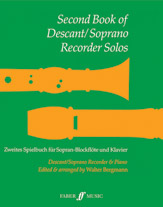 Second Book of Descant / Soprano Recorder Solos