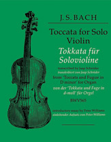 Toccata for Solo Violin