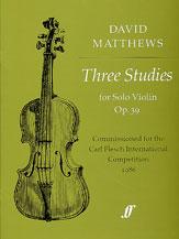 Three Studies, Opus 39