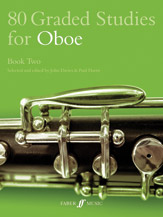 80 Graded Studies for Oboe, Book Two