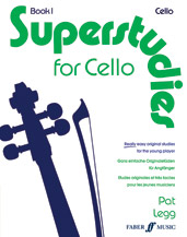 Superstudies for Cello, Book 1