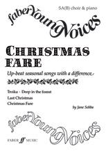 Jane Sebba : Christmas Fare : SA(B) : Songbook : 9780571516933 : 12-0571516939
