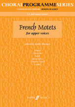 Judith Blezzard : French Motets : SA : Songbook : 9780571518050 : 12-0571518052
