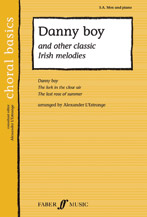 Alexander L'Estrange : Danny Boy and Other Classic Irish Melodies : SAB : Songbook : 9780571521906 : 12-0571521908