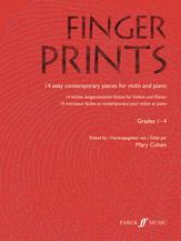 Fingerprints for Violin and Piano, Grade 1-4