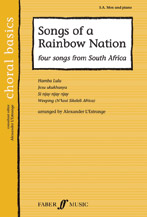 Alexander L'Estrange : Songs of a Rainbow Nation : SAB : Songbook : 9780571523382 : 12-0571523382