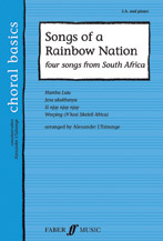 Alexander L'Estrange : Songs of a Rainbow Nation : SA : Songbook : 9780571523658 : 12-057152365X