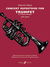 Concert Repertoire for Trumpet