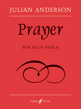 Prayer for Solo Viola