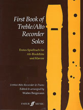 First Book of Treble / Alto Recorder Solos