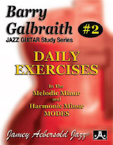 Barry Galbraith Jazz Guitar Study Series #2: Daily Exercises