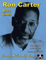 Ron Carter Bass Lines, Vol. 12