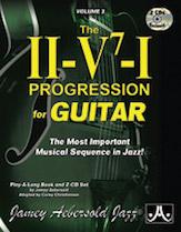 Jamey Aebersold Jazz, Volume 3: The ii-V7-I Progression for Guitar