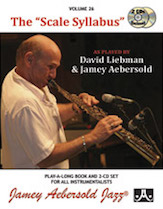 Jamey Aebersold Jazz, Volume 26: The 'Scale Syllabus'
