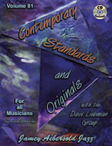 Jamey Aebersold Jazz, Volume 81: Contemporary Standards and Originals