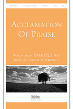 Acclamation of Praise (Words from Isaiah 12:1, 4-5)