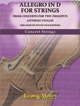 Allegro in D for Strings
