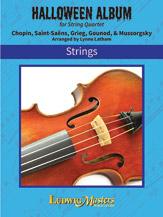 Halloween Album for String Quartet