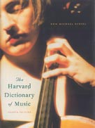 The Harvard Dictionary of Music (4th Edition)