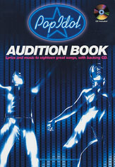 Pop Idol Audition Book