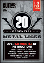 Guitar World: 20 Essential Metal Licks