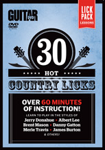Guitar World: 30 Hot Country Licks
