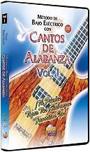 Metodo con Cantos de Alabanza: Bajo Electrico Vol. 1