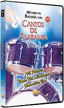 Metodo con Cantos de Alabanza: Bateria Vol. 1