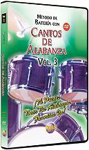Metodo con Cantos de Alabanza: Bateria Vol. 3